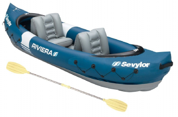 Sevylor Riviera 2 Person Inflatable Kayak